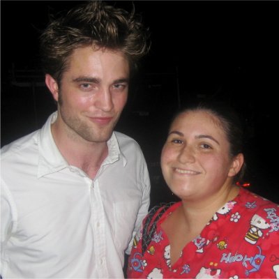 Rob with Dana