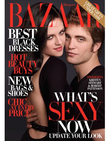 Robert Pattinson And Kristen Stewart Cover Harper S Bazaar