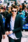 Robert Pattinson on Letterman