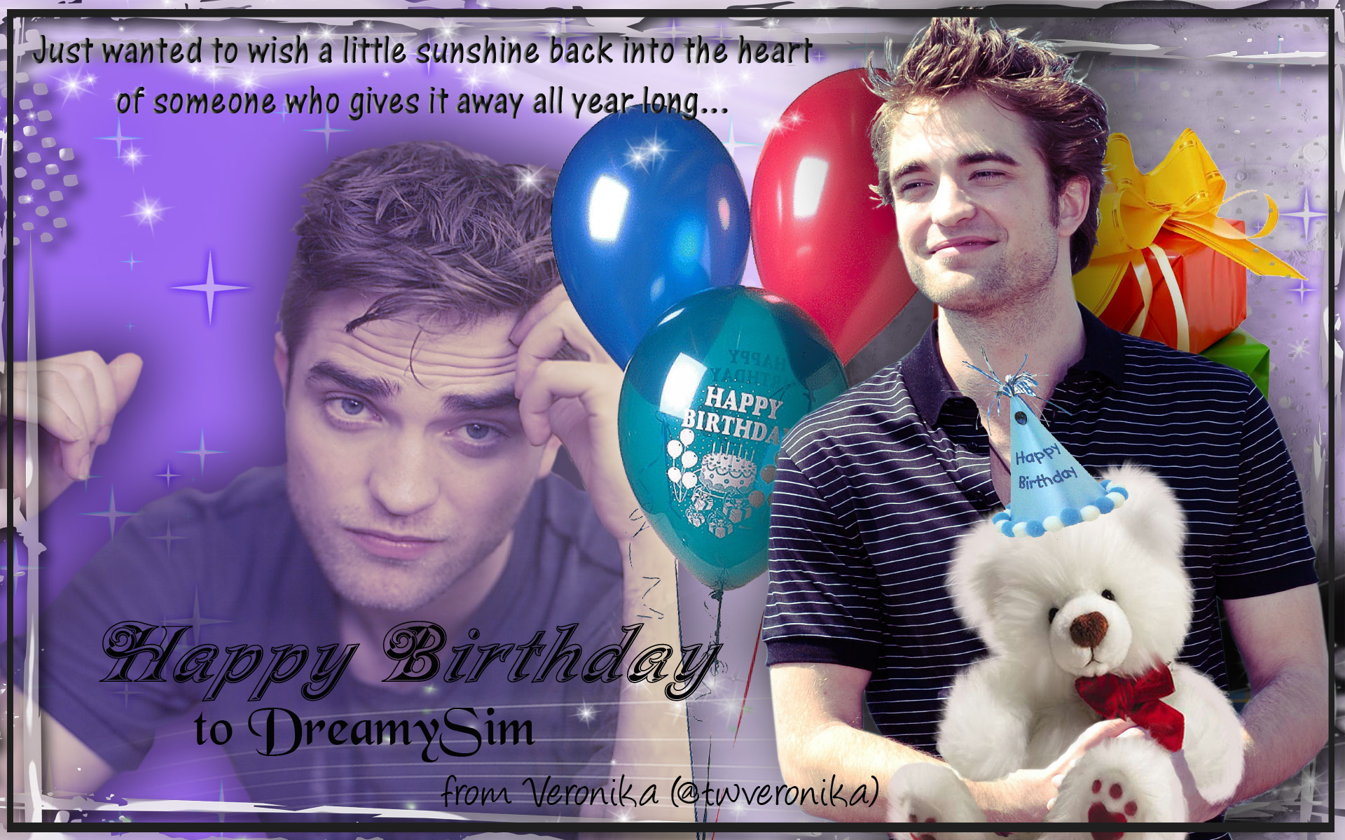 Happy Birthday Images For Men ~ Happy birthday sim! thinking of rob