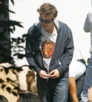 Robert Pattinson at Central Park