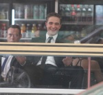 Robert Pattinson films scene with Sarah Gadon in Toronto