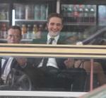 Robert Pattinson films scene with Sarah Gadon in Toronto