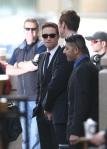 Robert Pattinson On 'Cosmopolis' Film Set