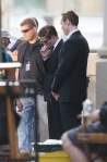 Robert Pattinson On 'Cosmopolis' Film Set