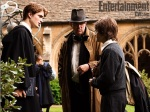 New behind-the-scenes picture of Robert Pattinson as Cedric Diggory in Harry Potter and the Goblet ofFire