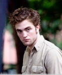 Robert Pattinson films 'Remember Me' in Washington Square Park in NYC