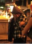 """ROBERT PATTINSON dreht eine Nachtszene für """"Remember Me"""""""