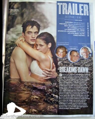 """1 Septiembre- Scans de las revistas """"Ciak"""" y """"Bravo"""" con Robert Pattinson Ciak001"""