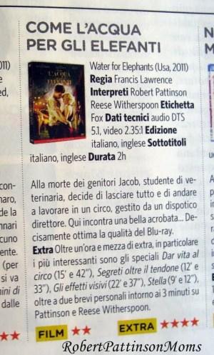 """1 Septiembre- Scans de las revistas """"Ciak"""" y """"Bravo"""" con Robert Pattinson Ciak002"""