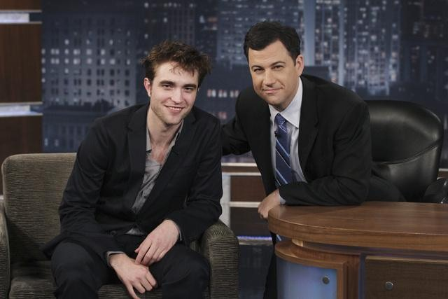 ROBERT PATTINSON, JIMMY KIMMEL