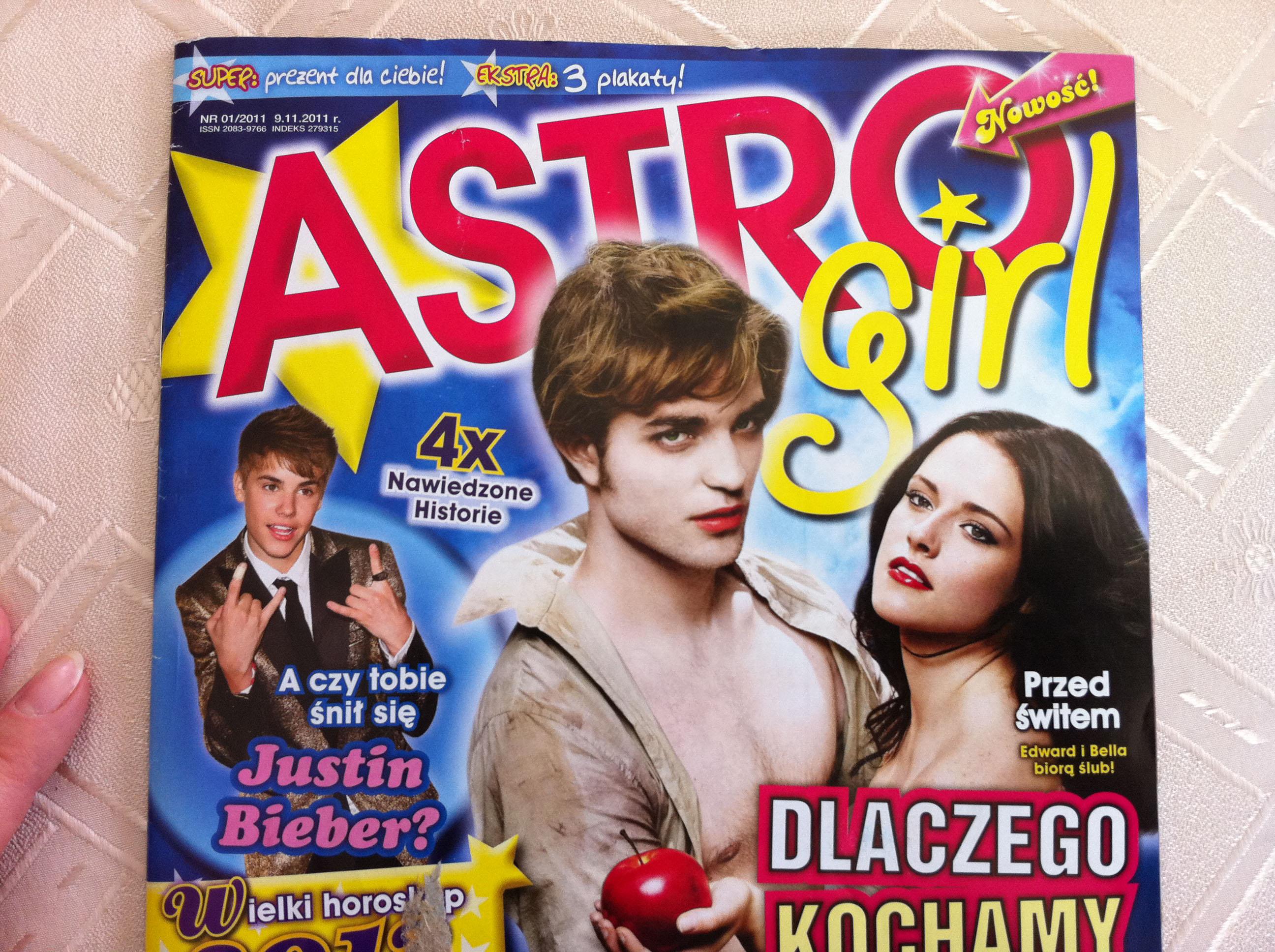 Astro girl magazine