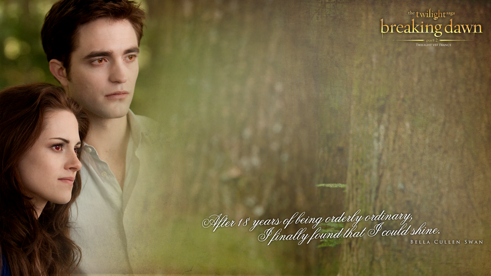 Great New Breaking Dawn Part 2 Wallpaper By Twilight Vef