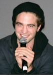 "Robert Pattinson and Catherine Hardwicke Promote ""Twilight"" at the Apple"