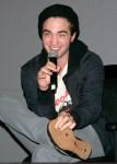 "Robert Pattinson and Catherine Hardwicke Promote ""Twilight"" at the Apple Store Soho"