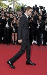 Actor Pattinson arrives on the red carpet for the screening of the film On The Road in competition at the 65th Cannes Film Festival