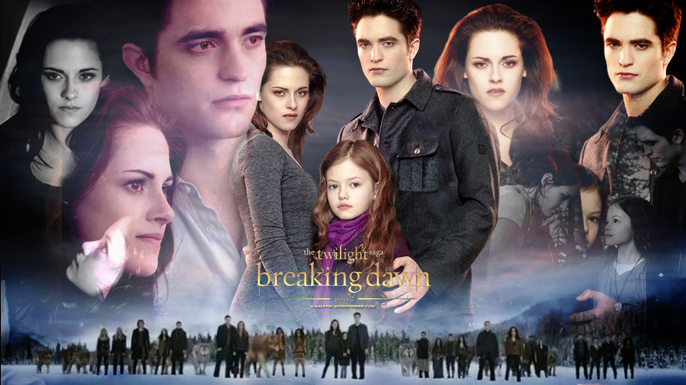 New Breaking Dawn Part 2 Wallpaper Thinking Of Rob