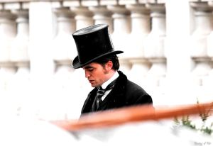 Film Set: 'Bel Ami'