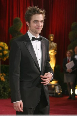 British-born actor Robert Pattinson arri