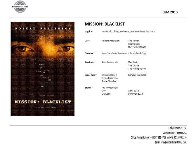 Mission Blacklist