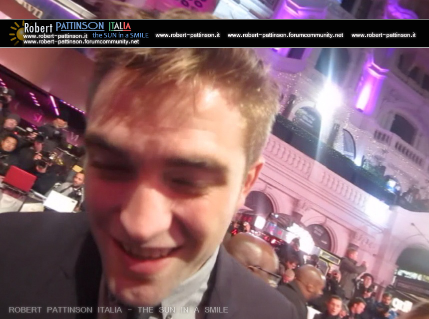 robert pattinson italia the sun in a smile photo london 11