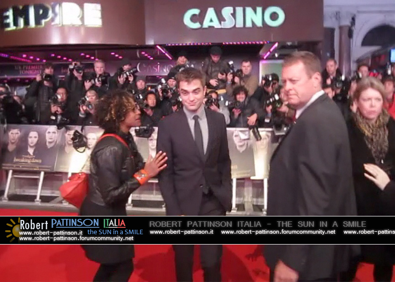 robert pattinson italia the sun in a smile photo london 21