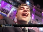 robert pattinson italia the sun in a smile photo london 3