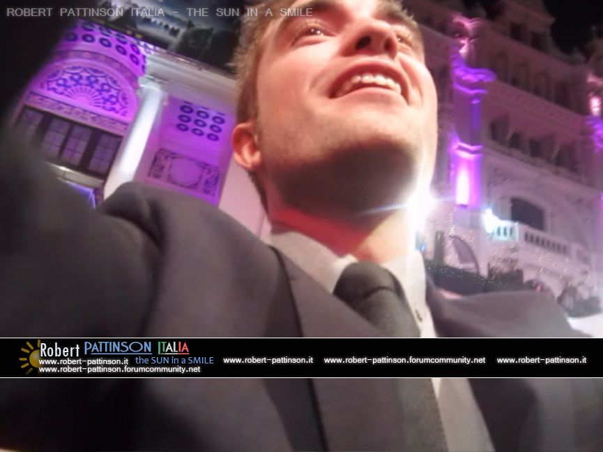robert pattinson italia the sun in a smile photo london 5