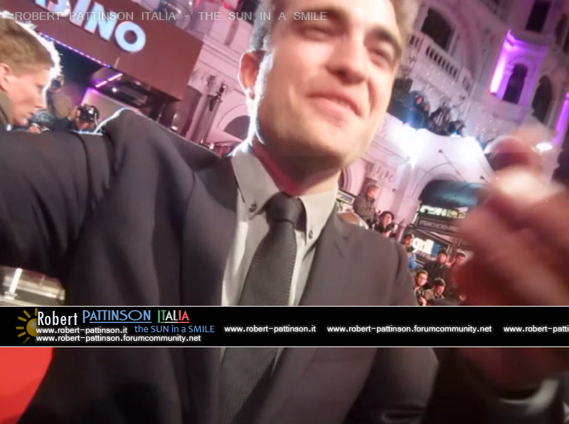 robert pattinson italia the sun in a smile photo london 7