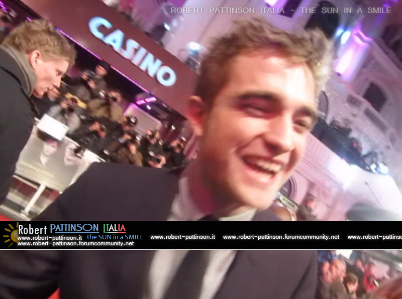 robert pattinson italia the sun in a smile photo london 8