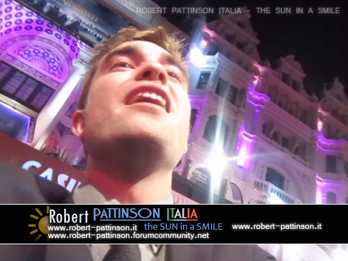 robert pattinson italia the sun in a smile photo london premiere