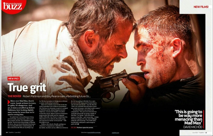 The Rover Robert Pattinson film-horz