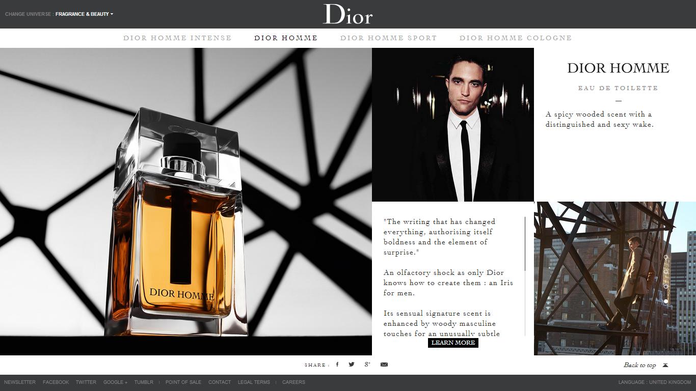 dior site officiel - HD1366×768