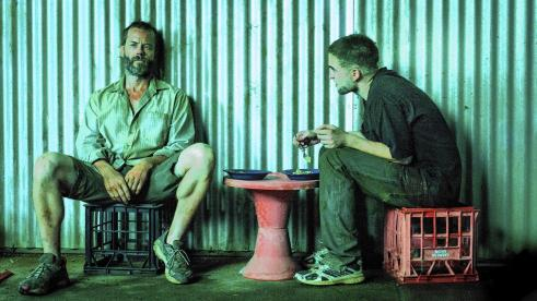 the rover still
