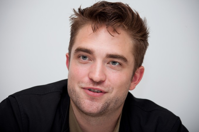 Robert Pattinson At The Rover Junket - LA