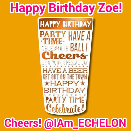 Zoes Birthday